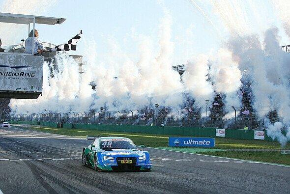 Kein Titel, aber zumindest den Laufsieg konnte sich Mortara in Hockenheim noch holen - Foto: Audi