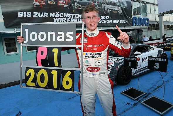 Joonas Lappalainen ist Meister im Audi Sport TT Cup 2016 - Foto: Audi