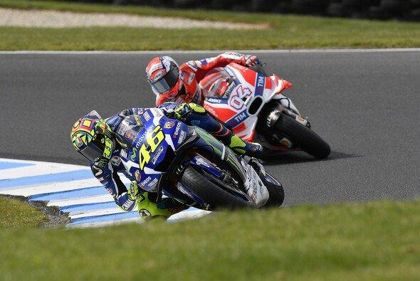 Andrea Dovizioso liegt in der Gesamtwertung vor Valentino Rossi - Foto: Yamaha