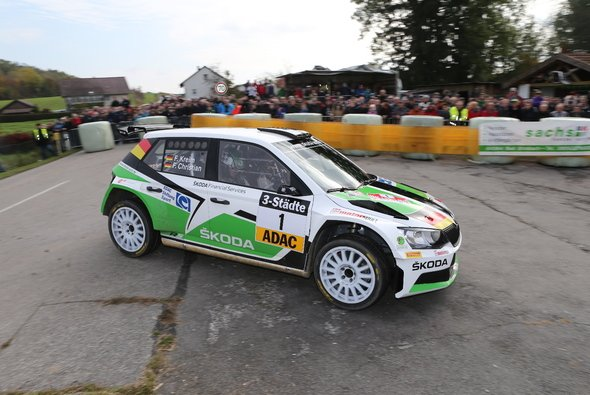 Förderpilot der ADAC Stiftung Sport und Deutscher Rallye-Meister: Fabian Kreim - Foto: RB Hahn