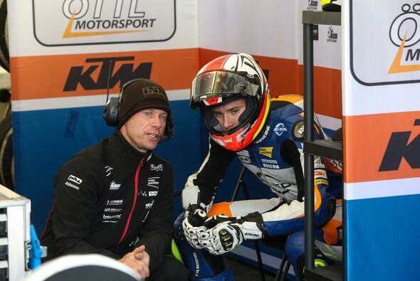 Für Philipp Öttl endete das Rennen in Malaysia schmerzhaft - Foto: Schedl GP