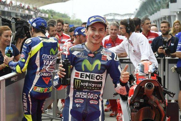 Jorge Lorenzo landete trotz Schwierigkeiten auf dem Podium - Foto: Yamaha