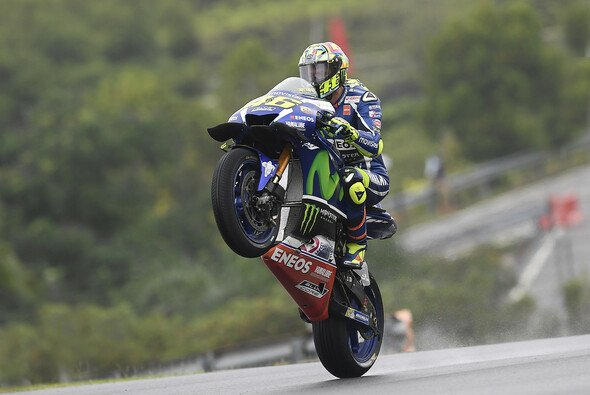 Valentino Rossi ist zum dritten Mal in Folge VIzeweltmeister - Foto: Yamaha