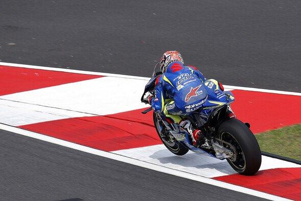 Maverick Vinales fuhr im Warm Up zur Bestzeit - Foto: Suzuki