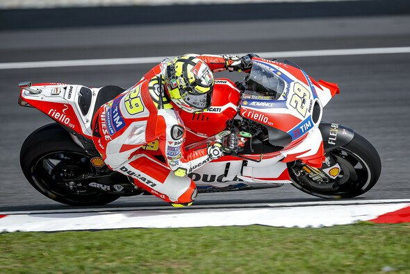 Andrea Iannone startet in Valencia ein letztes Mal in rot