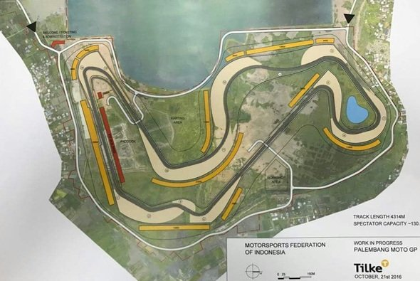 So soll die neue Strecke in Palembang aussehen - Foto: Tilke