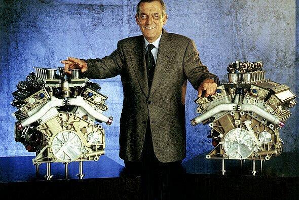 Stolzer Motoren-Vater: Paul Rosche wurde respektvoll 'Nocken-Paule' genannt - Foto: BWW