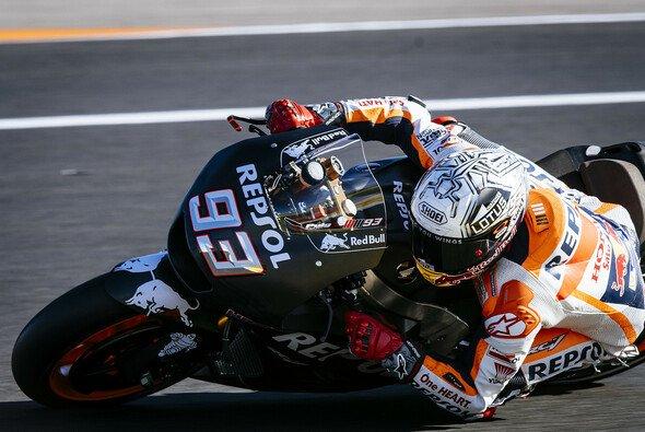 Weltmeister Marc Marquez testet am Dienstag und Mittwoch in Valencia - Foto: Milagro
