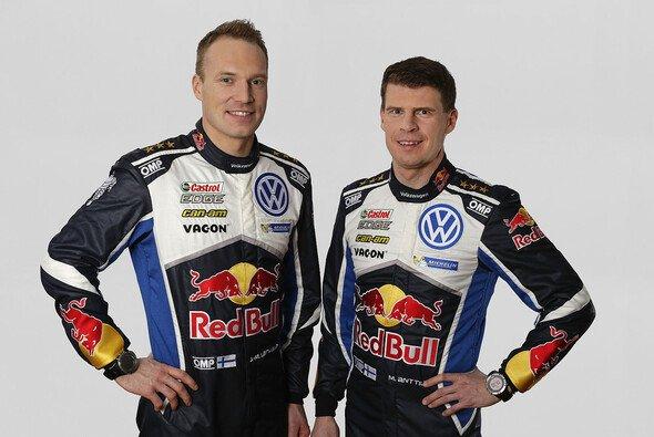 Jari-Matti Latvala und Miikka Anttila sind seit 2003 ein starkes Duo - Foto: Volkswagen Motorsport