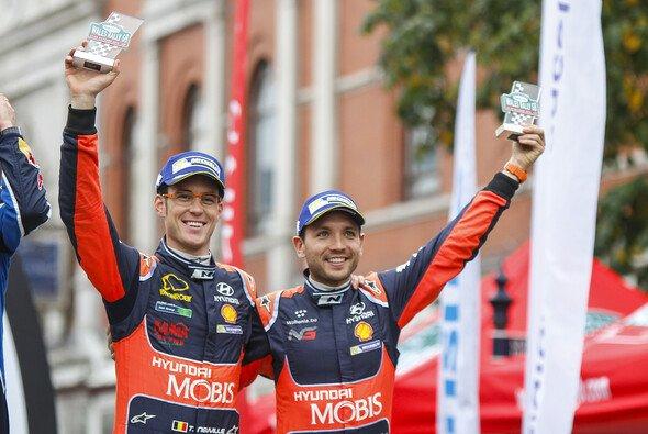 Thierry Neuville und Nicolas Gilsoul bilden seit 2011 ein Team - Foto: Hyundai