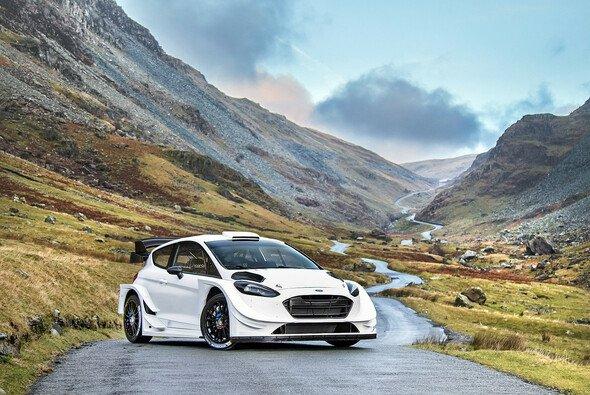 So sieht der neue Ford Fiesta WRC aus - Foto: M-Sport
