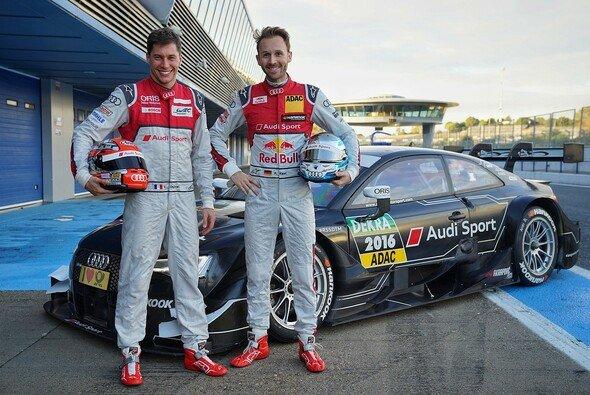 Audi holt mit Rene Rast und Loic Duval zwei neue Fahrer für die DTM-Saison 2017 - Foto: Audi Sport
