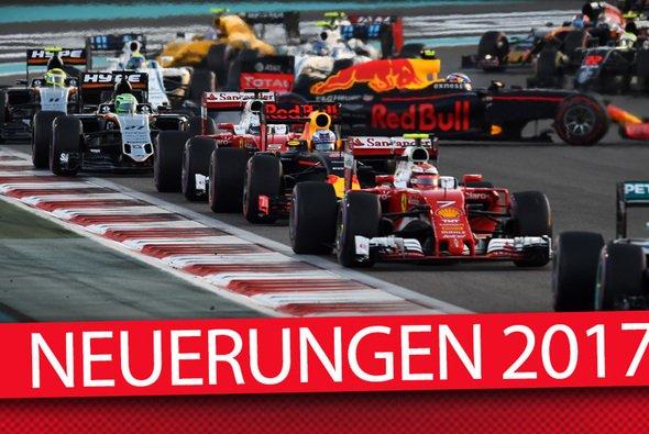 Die Formel 1 wartet 2017 mit neuen Regeln und einigen Personalveränderungen auf - Foto: Motorsport-Magazin.com