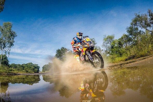Sam Sunderland behielt den Durchblick auf der 5. Etappe - Foto: KTM