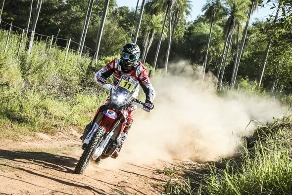 Joan Barreda holt seinen ersten Etappensieg in diesem Jahr - Foto: Honda
