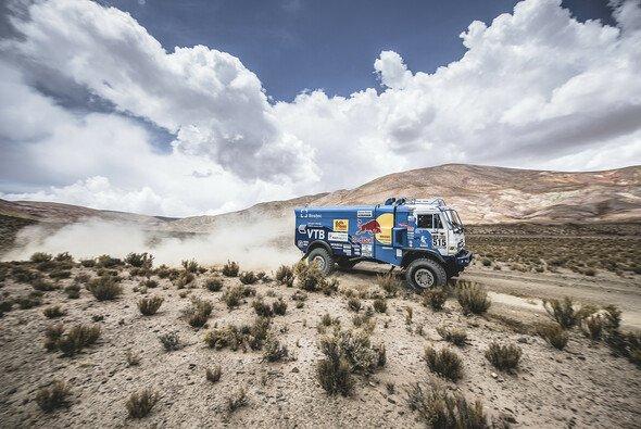 Bei den Trucks kam es am Donnerstag zu einem Eklat - Foto: Red Bull