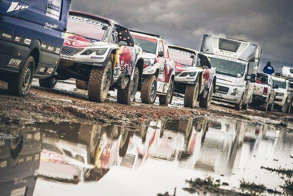 Die Motoren stehen still: Es ist Ruhetag bei der Rallye Dakar - Foto: Red Bull