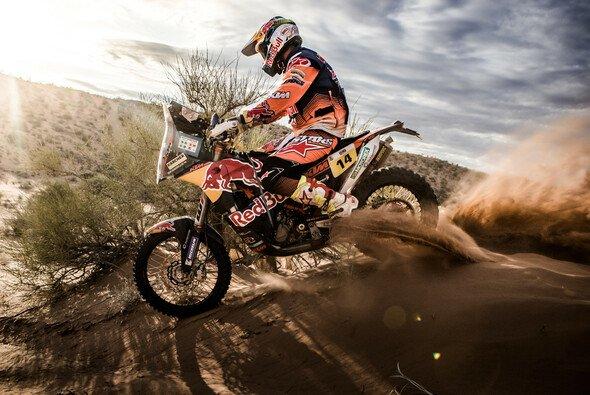 Alle Fahrer träumen vom Sieg bei der Rallye Dakar - Foto: KTM