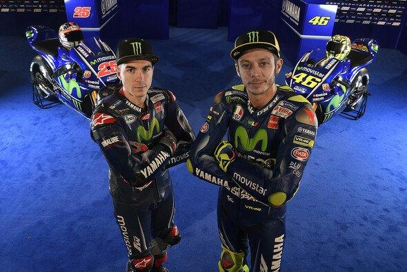 Vinales und Rossi: Wieviel Raum lässt der Platzhirsch dem Newcomer? - Foto: Yamaha