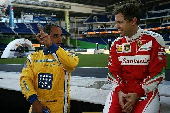 Juan Pablo Montoya und Sebastian Vettel waren die Sieger beim Race of Champions 2017 in Miami - Foto: ROC