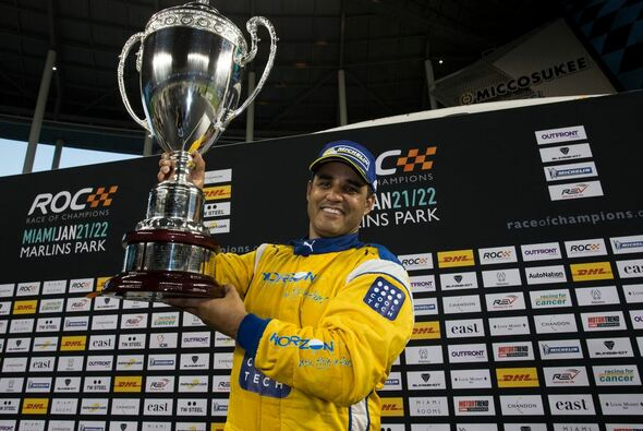 Juan Pablo Montoya konnte das Race of Champions im ersten Anlauf gewinnen - Foto: ROC