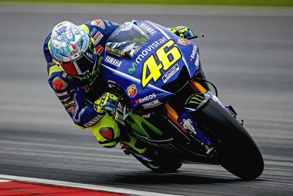 Valentino Rossi fuhr an Tag drei in Sepang in die Top-5 - Foto: Yamaha