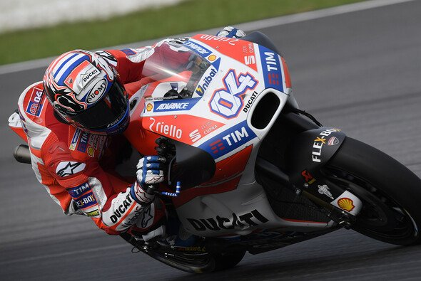 Schnellster im FP1: Andrea Dovizioso - Foto: Ducati
