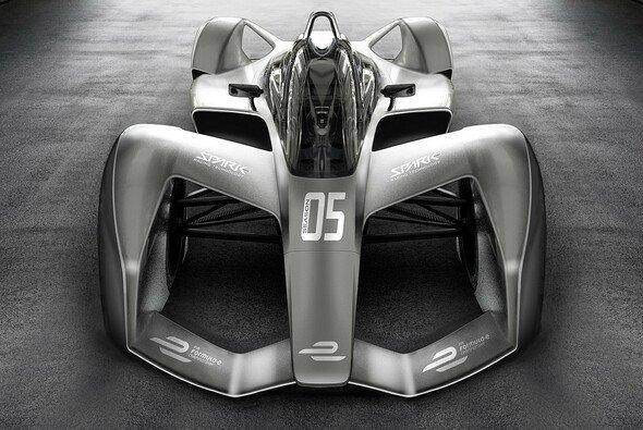 So sollen die Autos in der Formel E ab 2018/19 aussehen - mit Aston Martin? - Foto: Spark Racing Technologies