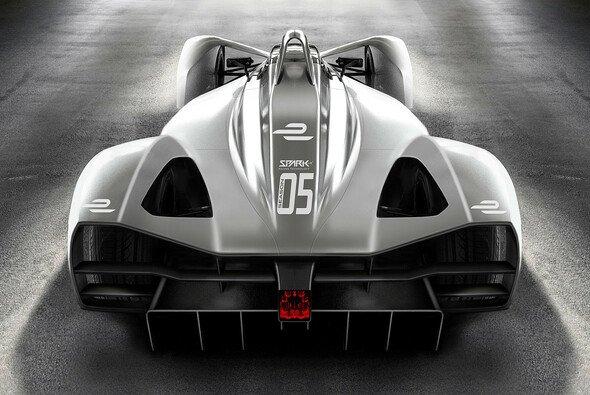 So sah das Generation-2-Auto laut der letzten Studie von Hersteller Spark aus - es wird sich noch was ändern - Foto: Spark Racing Technologies