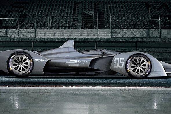Auto-Designer Spark hat bislang nur eine Konzeptstudio des neuen Formel-E-Autos veröffentlicht - Foto: Spark Racing Technologies