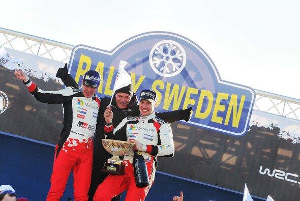 Jari-Matti Latvala feierte bei der zweiten Rallye für Toyota den Sieg - Foto: Toyota Gazoo Racing