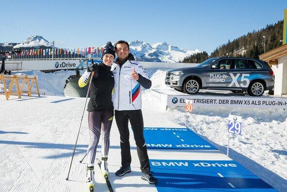 Bruno Spengler ist bekennender Biathlon-Fan - Foto: BMW
