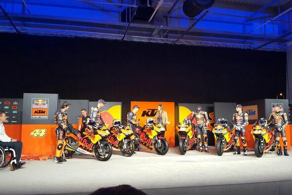 KTM stellt in Munderfing ihre Bikes für die Saison 2017 vor - Foto: Motorsport-Magazin.com