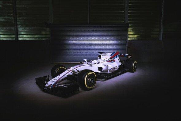 So sieht der neue Williams FW40 für 2017 aus - Foto: Williams