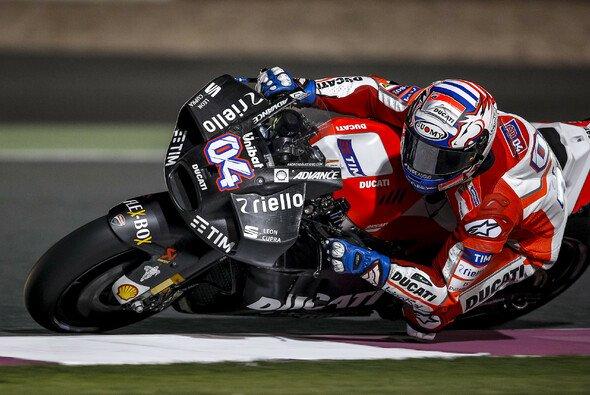 Andrea Dovizioso war bereits mit der neuen Verkleidung unterwegs - Foto: Ducati