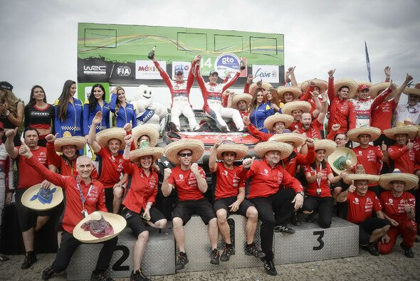 Kris Meeke wusste zunächst nicht, dass er die Rallye Mexiko gewonnen hatte - Foto: Citroen
