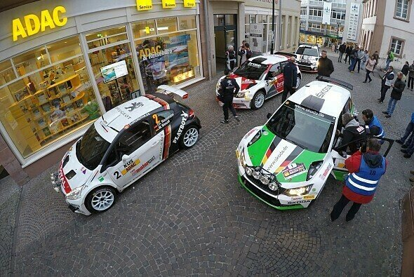 Start frei zur nächsten Runde: Die Top-Teams der DRM starten in Hessen - Foto: ADAC Rallye Masters