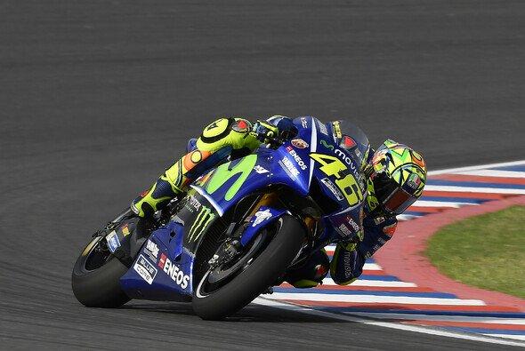 Valentino Rossi landete in seinem 350. GP auf dem zweiten Platz - Foto: Yamaha
