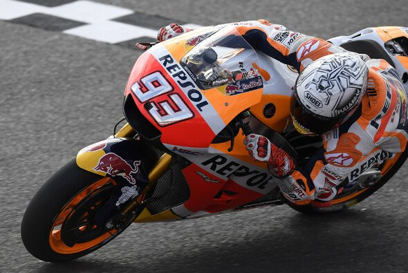 Marc Marquez war im Qualifying unantastbar - Foto: HRC