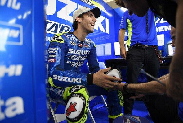 Alex Rins ist in Assen wieder am Start - Foto: Suzuki