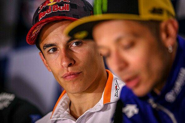 Marc Marquez will sich nach dem Crash mit Valentino Rossi treu bleiben - Foto: gp-photo.de