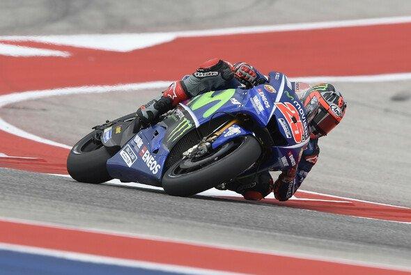 Maverick Vinales holte sich im FP3 die Bestzeit - Foto: Yamaha