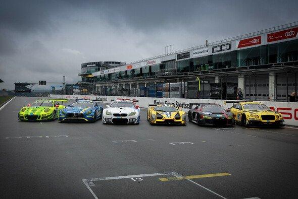 Fünf GT3-Hersteller sind bei den 24h Nürburgring 2017 werksseitig dabei - Foto: 24h Media