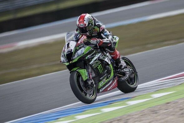 Jonathan Rea war im ersten Rennen von Assen siegreich - Foto: Kawasaki