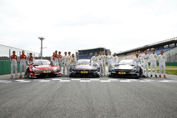 Auch in diesem Jahr streiten sich Audi, Mercedes und BMW um die DTM-Titel - Foto: DTM