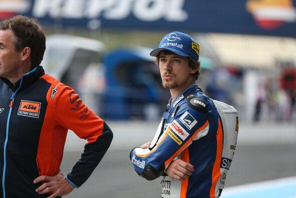 Philipp Öttl kehrte am Freitag auf seine Moto3-KTM zurück - Foto: Tobias Linke