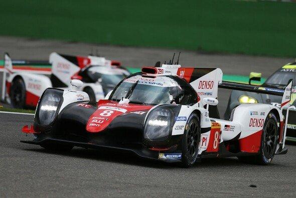 Sebastien Buemi, Anthony Davidson und Kazuki Nakajima setzten sich auch in Spa durch - Foto: Toyota