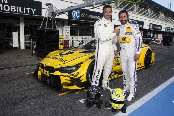 Timo Glock und Timo Scheider im Doppel-Interview: So geht Unterhaltung im Motorsport - Foto: BMW
