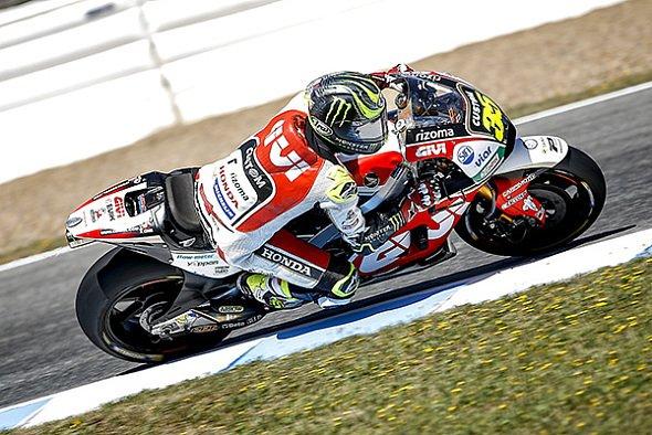 Cal Crutchlow war der schnellste Mann am Freitag in Jerez - Foto: LCR Honda