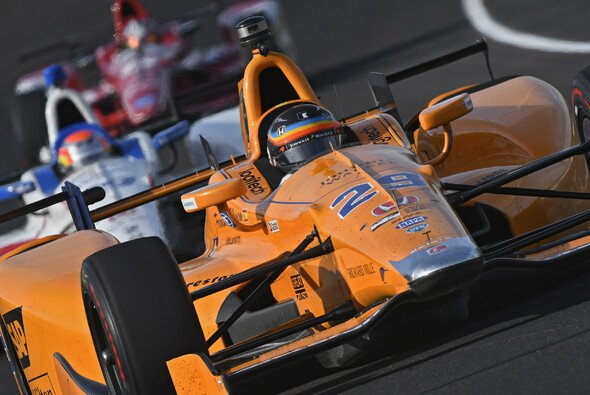 Fernando Alonso nahm bereits 2017 am Indy 500 teil - Foto: IndyCar